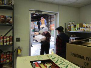 Food truck deliveries