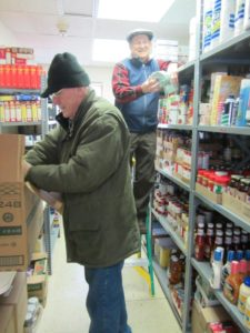 voorheesville new york food pantry at st. matthew's church